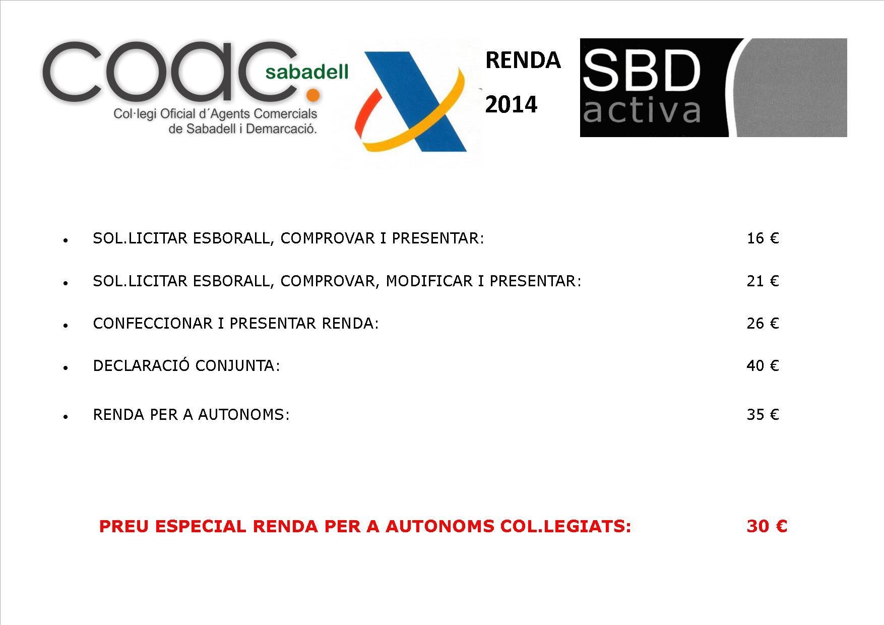 RENDA 2014