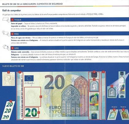 nou billet de 20€