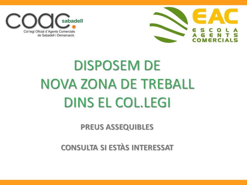 ZONA DE TREBALL
