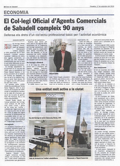 90È ANIVERSARI DIARI SABADELL