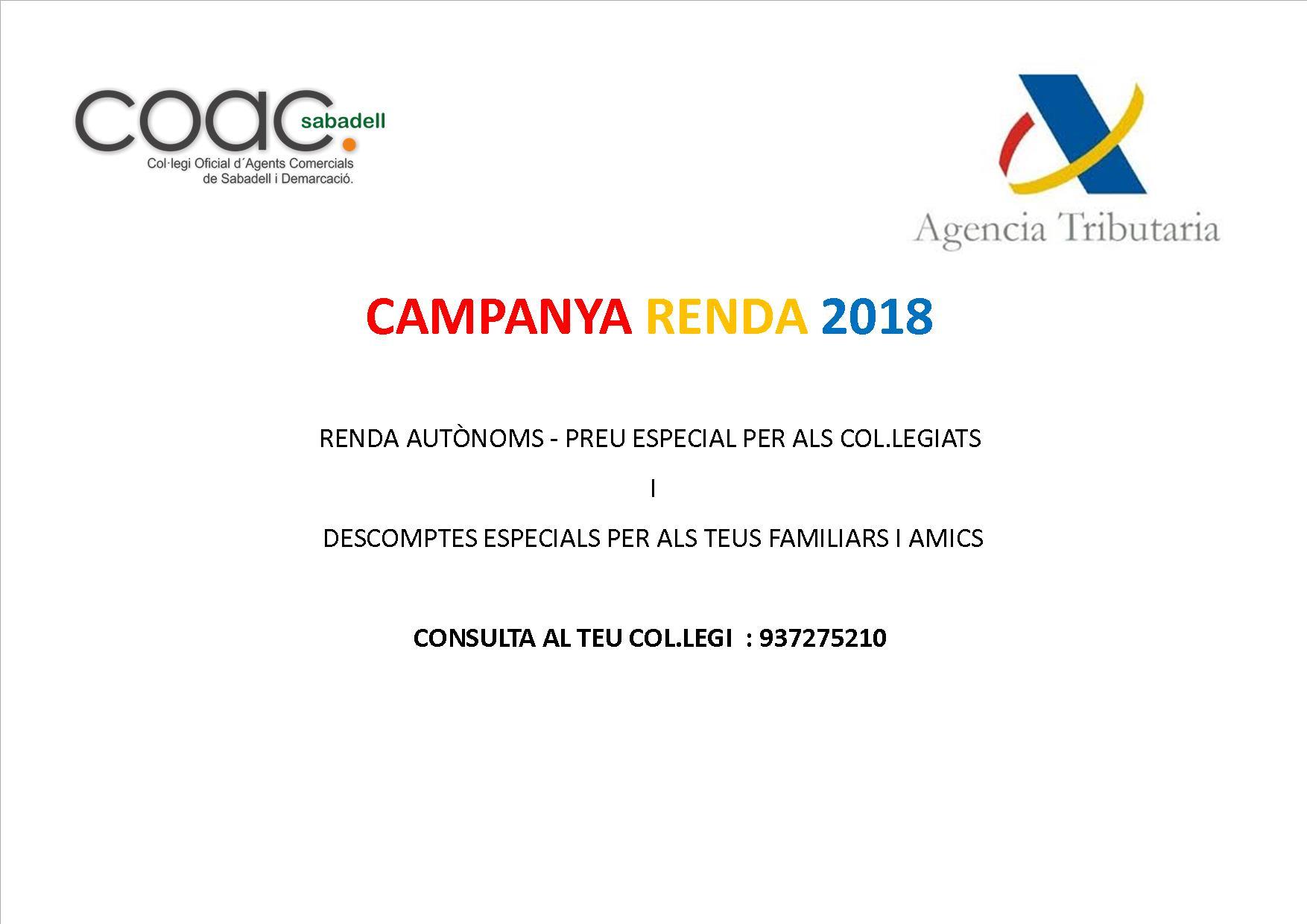 RENDA 2018