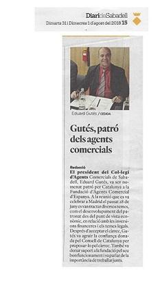 Anomenament Sr. Gutés Patró AC Juny 2018