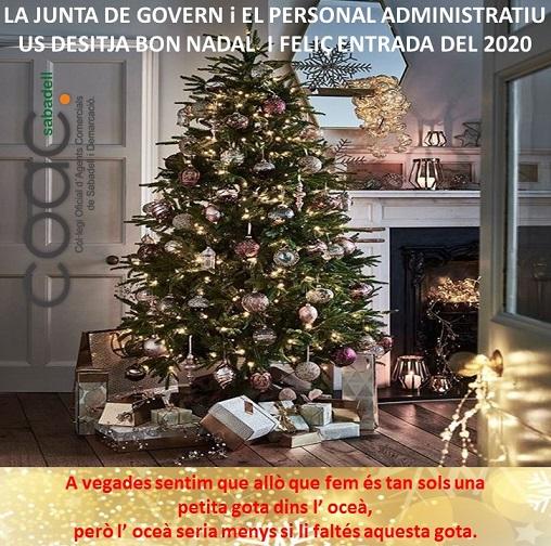 FELICITACIÓ NADAL 2019
